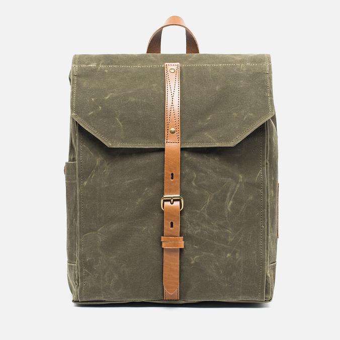 Property Of... Hector Backpack Dark Tan/Light Brown