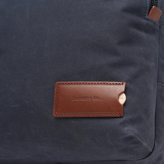 Рюкзак Property Of... Johannes Indigo/Brown