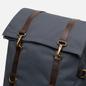 Рюкзак Property Of... Karl 48h Travel Stone Blue/Dark Brown фото - 3