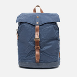 Property Of... Oscar Backpack Navy/Brown photo- 0
