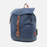Property Of... Oscar Backpack Navy/Brown photo- 1