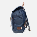 Property Of... Oscar Backpack Navy/Brown photo- 2