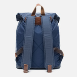 Property Of... Oscar Backpack Navy/Brown photo- 3