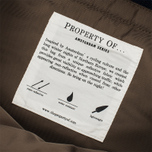 Property Of... Oscar Backpack Navy/Brown photo- 7