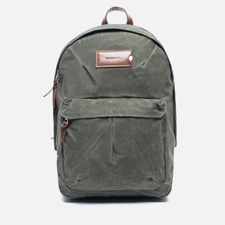 Рюкзак Property Of... Tommy Dark Olive/Brown