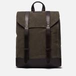 Рюкзак Property Of... Trey Dark Tan/Dark Brown фото- 0