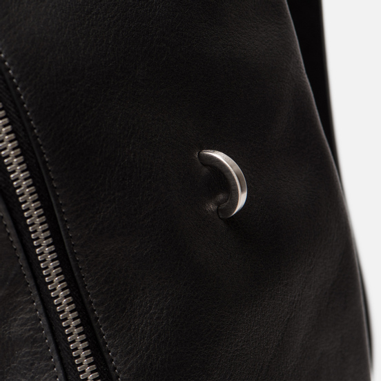 Рюкзак Rick Owens Front Pocket Black