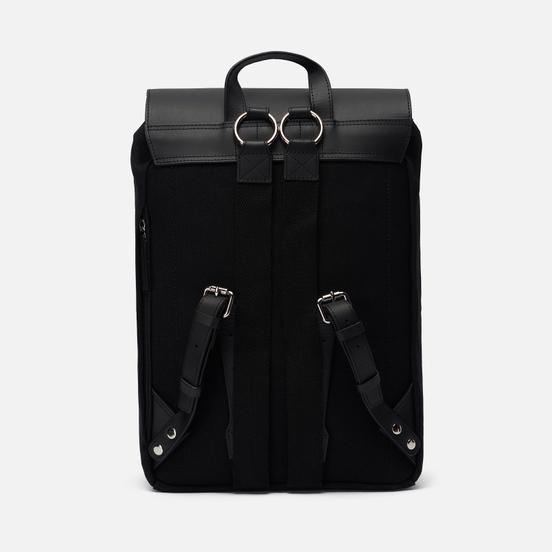 Рюкзак Sandqvist Alva Black/Black Leather