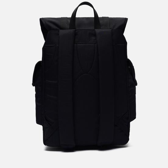 Рюкзак Sandqvist Charlie Black/Black Leather