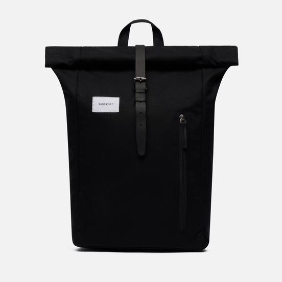 Рюкзак Sandqvist Dante Black/Black Leather