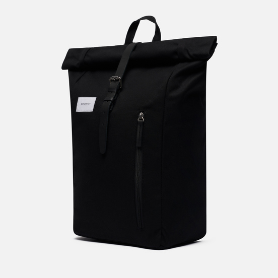Рюкзак Sandqvist Dante 18L Black/Black Leather