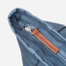 Рюкзак Sandqvist Dante Dusty Blue/Cognac Brown Leather фото- 5