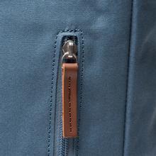 Рюкзак Sandqvist Dante Dusty Blue/Cognac Brown Leather фото- 6