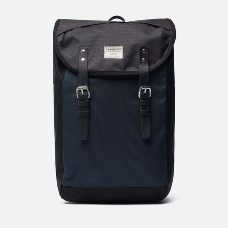 Рюкзак Sandqvist Hans Multicolour Black/Blue/Grey
