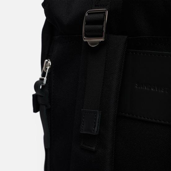 Рюкзак Sandqvist Harald 21L Black/Black Leather