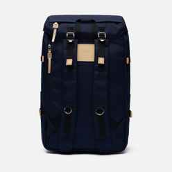 Рюкзак Sandqvist Harald 21L Navy/ Natural Leather