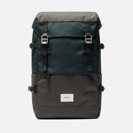 Рюкзак Sandqvist Harald Multi Deep Green/Dark Grey