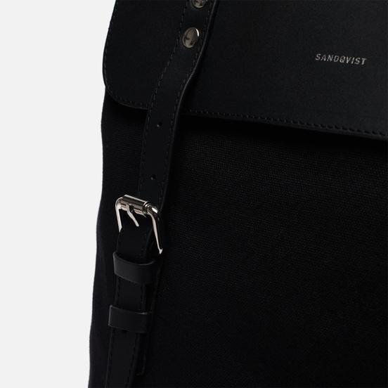 Рюкзак Sandqvist Hege 18L Black/Black Leather