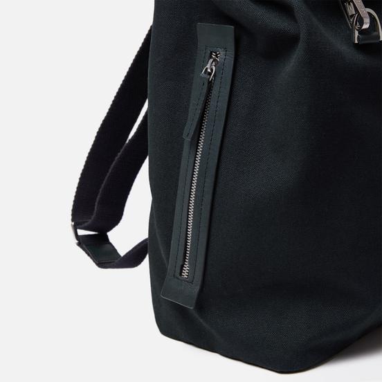 Рюкзак Sandqvist Hege Metal Hook 18L Black/Black Leather
