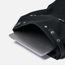 Рюкзак Sandqvist Hege Metal Hook 18L Black/Black Leather фото- 5