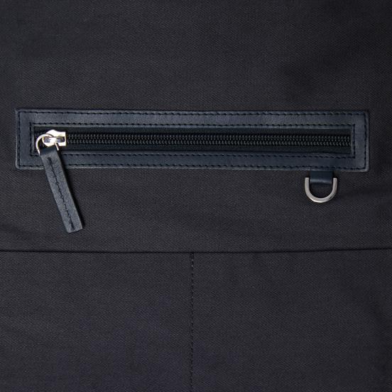 Рюкзак Sandqvist Hege Metal Hook 18L Navy/Navy Leather