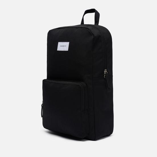 Рюкзак Sandqvist Kim Black/Black Leather