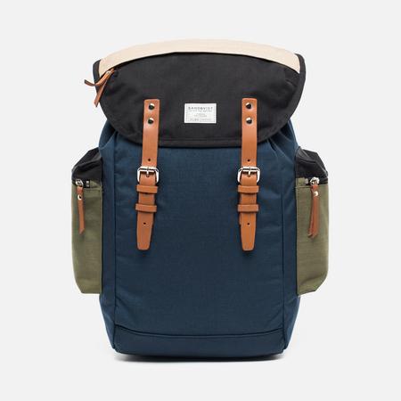 Sandqvist Lars-Goran Backpack Blue/Green/Sand/Black