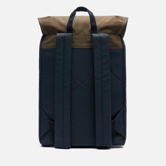 Рюкзак Sandqvist Roald 17L Multi Navy/Olive/Black Leather