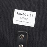 Рюкзак Sandqvist Roald Ground Black фото- 5