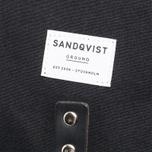 Sandqvist Roald Ground Backpack Black photo- 5