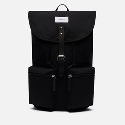 Рюкзак Sandqvist Roald 17L Black/Black Leather