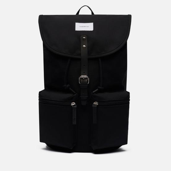 Рюкзак Sandqvist Roald Black/Black Leather