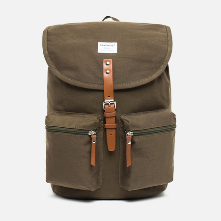 Рюкзак Sandqvist Roald Ground Olive