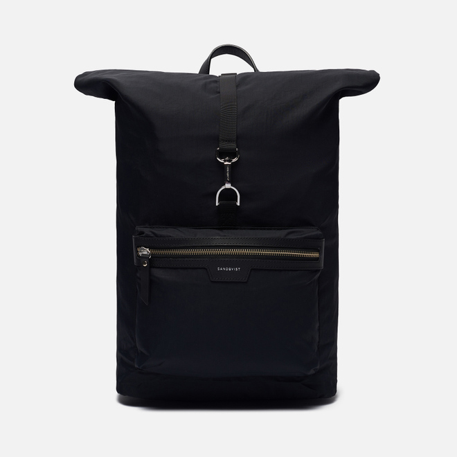 Рюкзак Sandqvist Siv 14L Black/Black Leather