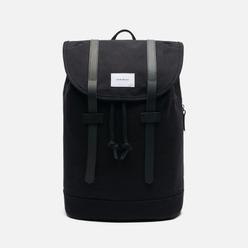 Рюкзак Sandqvist Stig Large 20L Black/Black Leather