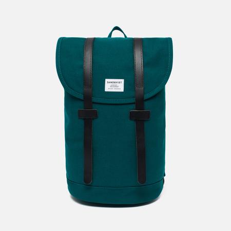 Sandqvist Stig Petrol Backpack Blue