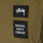 Рюкзак Stussy x Herschel Supply Co Drab Lawson Olive фото- 4
