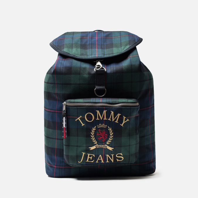 Рюкзак Tommy Jeans Crest Heritage Plaid Check