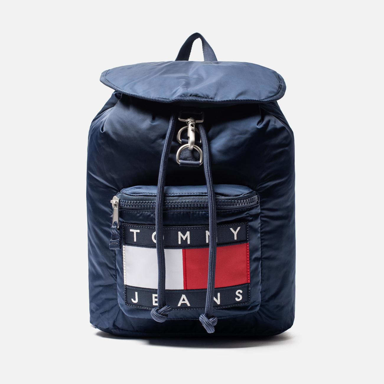 Рюкзак Tommy Jeans Heritage Large Flag Black Iris