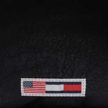 Рюкзак Tommy Jeans Heritage Leather Large Flag Black фото- 4