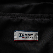 Рюкзак Tommy Jeans Heritage Leather Large Flag Black фото- 8