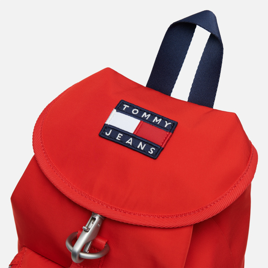 Рюкзак Tommy Jeans Heritage Nylon Racing Red