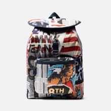 Рюкзак Tommy Jeans Heritage Print Americana фото- 0