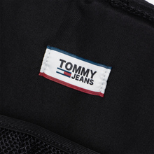 Рюкзак Tommy Jeans Logo Tape Small Nylon Black фото- 4
