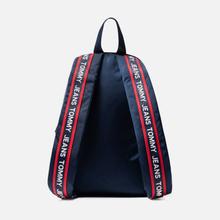 Рюкзак Tommy Jeans Logo Tape Small Nylon Black Iris фото- 3