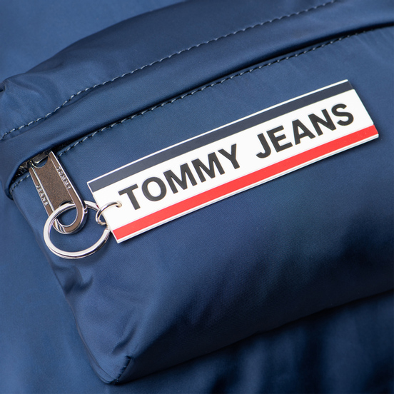 Рюкзак Tommy Jeans Logo Tape Small Nylon Black Iris