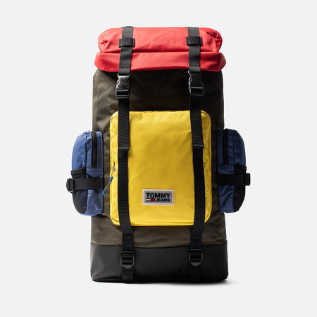 Рюкзак Tommy Jeans Urban Varsity Colorblock