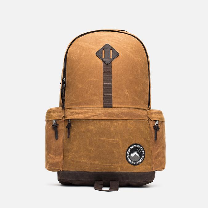 Vans Alpe D Huez Backpack Waxed Brown