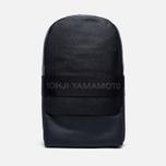 Рюкзак Y-3 Qasa Leather Black фото- 0