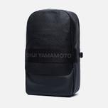 Рюкзак Y-3 Qasa Leather Black фото- 1